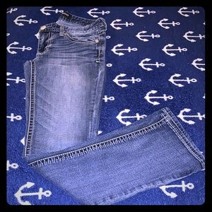 Express Jeans size 4R Barely Bootcut